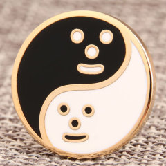 Cheap Custom Tai Chi Enamel Pins