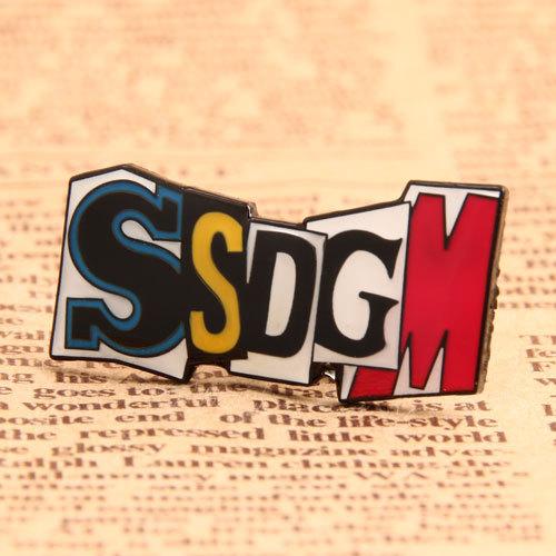SSDGM Custom Enamel Pins