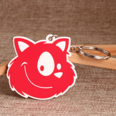 Little Cat PVC Keychain