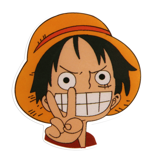 Luffy Custom Stickers