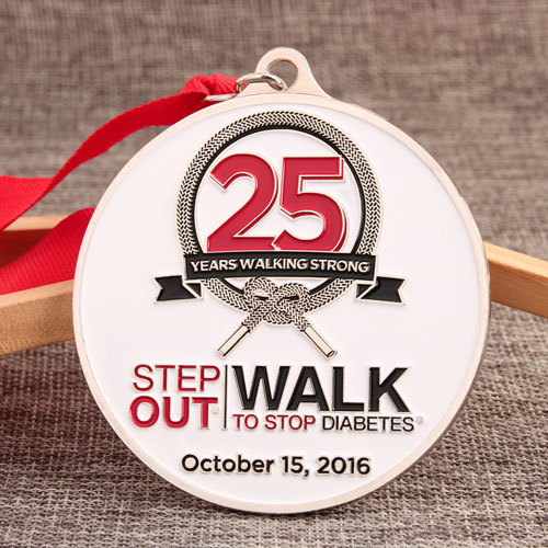 Walk to Stop Diabetes Charity Medals