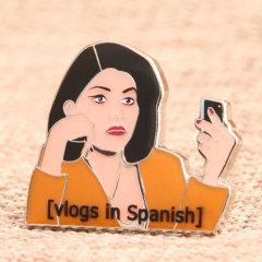 Spanish Woman Soft Enamel Pins