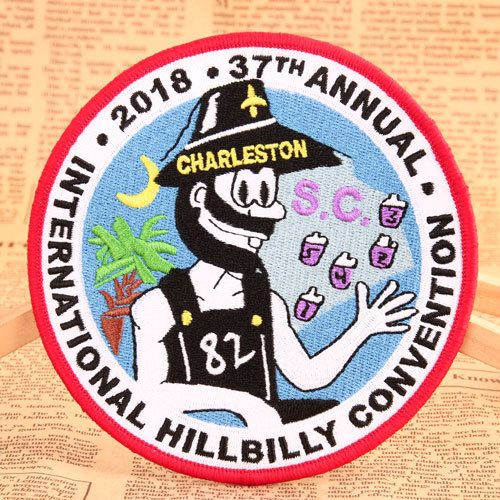 Charleston Embroidered Patches