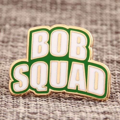 Bob Squad Custom Lapel Pins