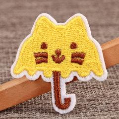 Cute Umbrella Custom Iron On Patches