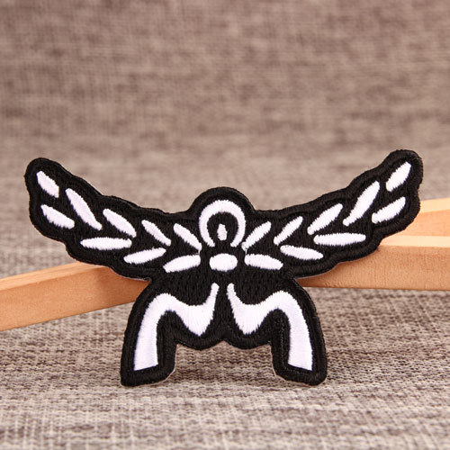 Wings Embroidered Patches