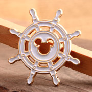 Custom Rudder Enamel Pins No Minimum