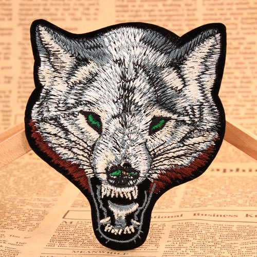Wolf Embroidered Patches
