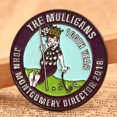 Mulligans Personalized Lapel Pins
