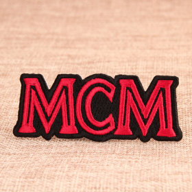 MCM Custom Embroidered Patches