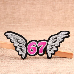 Flying 67 Custom Patches