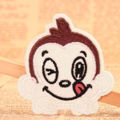 Big Mouthed Monkey Embroidered Patches