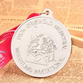 Wrestling Race Medals