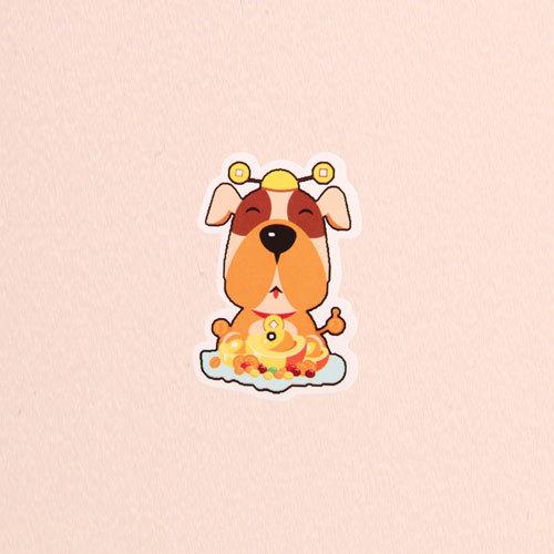 Treasure Dog Custom Stickers