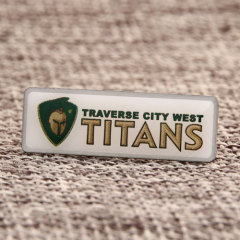 Traverse City West Titans Custom Lapel Pins