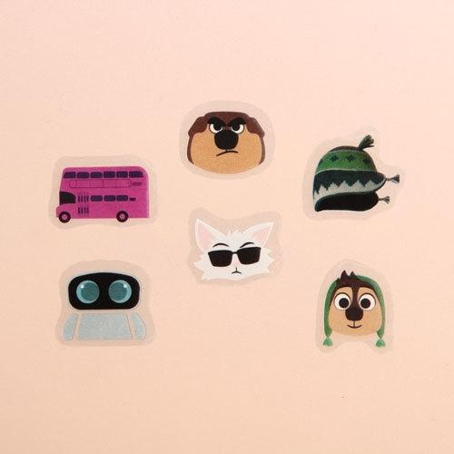 Cartoon Character Custom Sticker Sheets