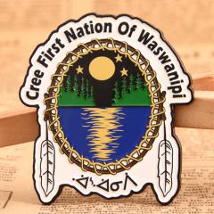 Cree Nation Custom Enamel Pins