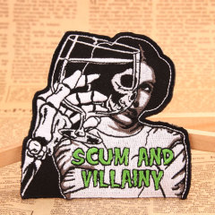 Scum And Villainy Personalized Patches