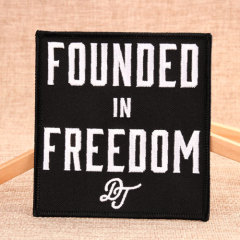 Founded And Freedom Make Custom Patches