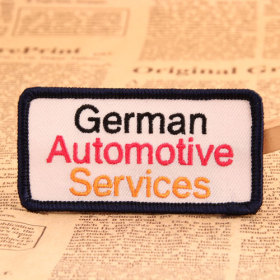 German Automotive Service Custom Patches