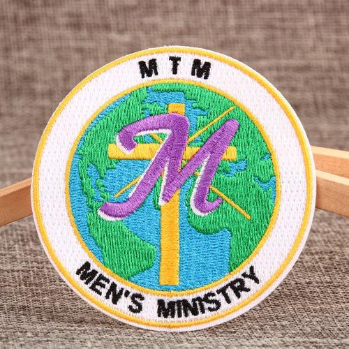Men's Ministry Custom Patches No Minimum