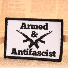 Armed Antifascist Custom Patches Online