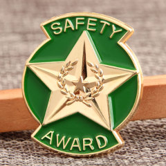 Safety Award Custom Pins