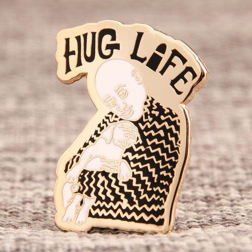 Hug Life Custom Lapel Pins