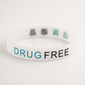 Drug Free wristbands