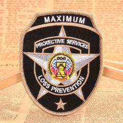 Police Badge Make Custom Patches