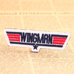 Wingman Custom Embroidered Patches