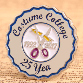 Custom Costume College Pins