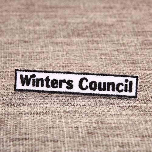 Winter Custom Patches No Minimum