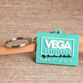 Vega PVC Keychain