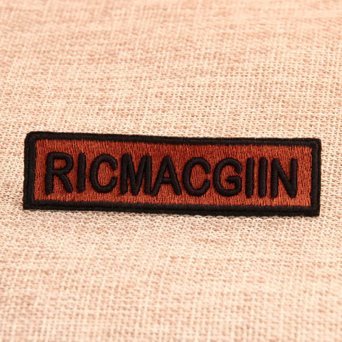 Ricmacgin Custom Embroidered Patches
