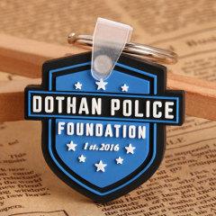 Dothan Police PVC Keychain