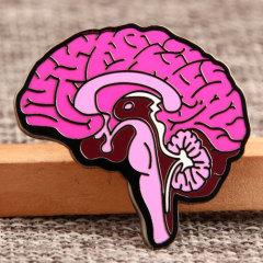 Custom Brain Lapel Pins