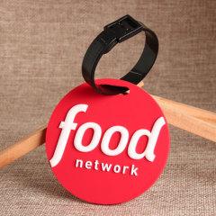 Food Network PVC Luggage Tag