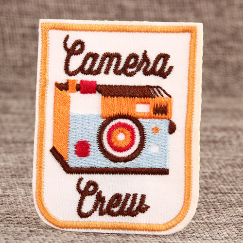 Camera Custom Embroidered Patches