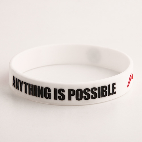 Anything is possible wristbands