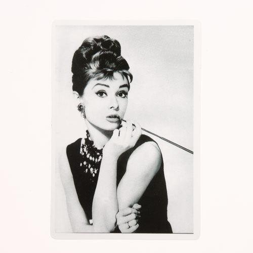 Audrey Hepburn Rectangle Stickers