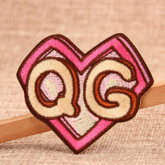 Q G Custom Embroidered Patches