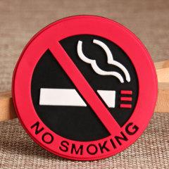 No Smoking PVC Patches