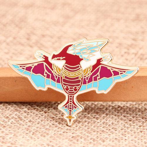 Pterosaur Custom Pins
