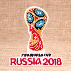Russia FIFA World Cup Custom Patches No Minimum
