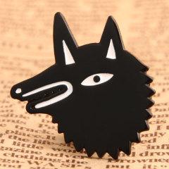Custom Wolf Pins