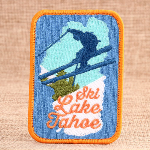 Free Skiing Custom Patches