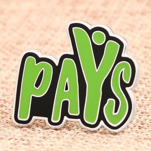 Custom Pays Enamel Pins