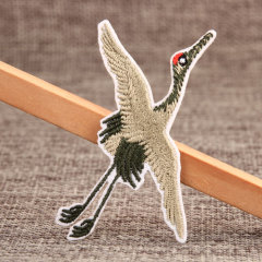 Crane Personalized Patches