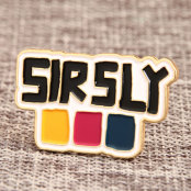 Custom Sir-Sly Enamel Pins